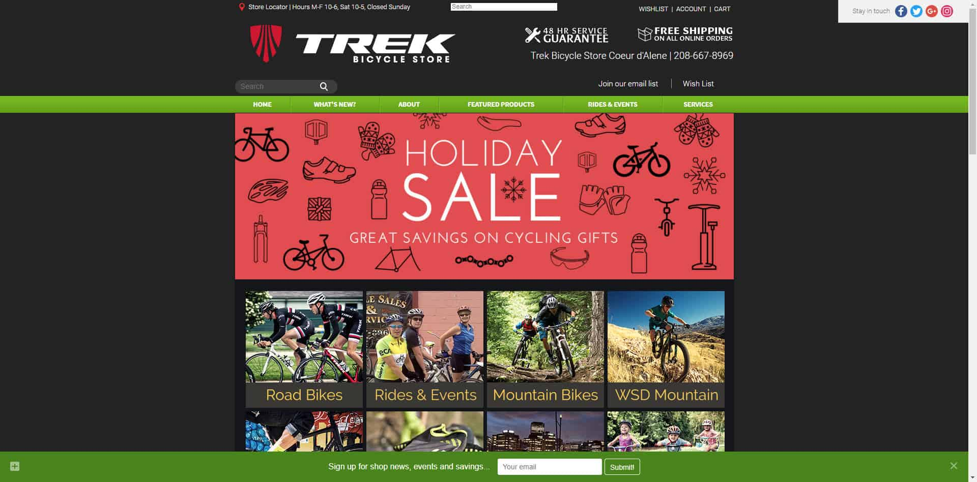 Trek Bicycle Store Coeur d'Alene
